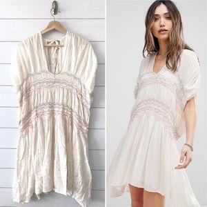 Free People || Love On The Run Mini Dress M